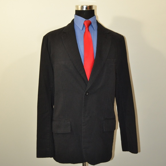 Aeropostale Other - Aeropostale 40R Sport Coat Blazer Suit Jacket Blac